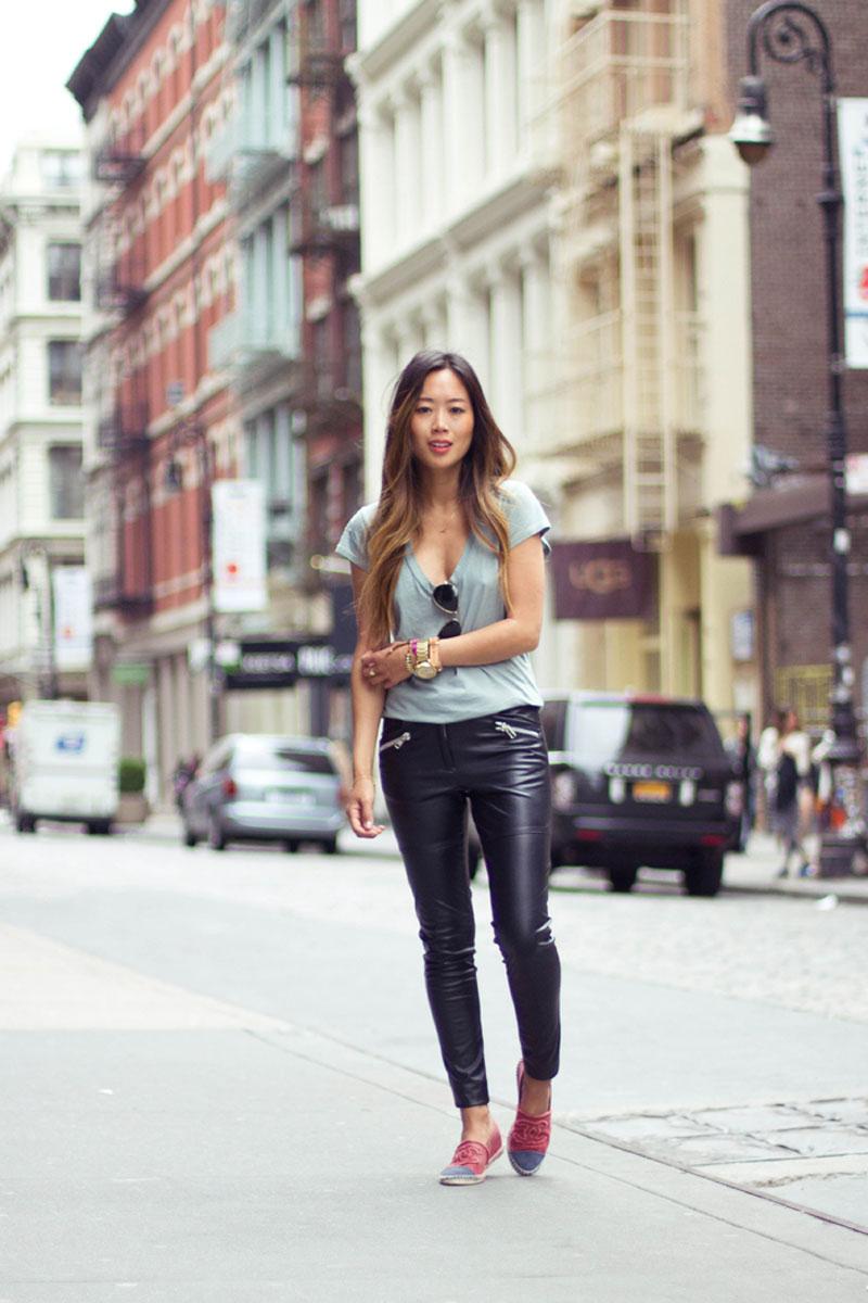 chanel espadrilles, chanel espadrilles street style (3)